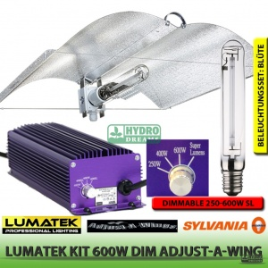 Lumatek Kit 600W DIM Wing