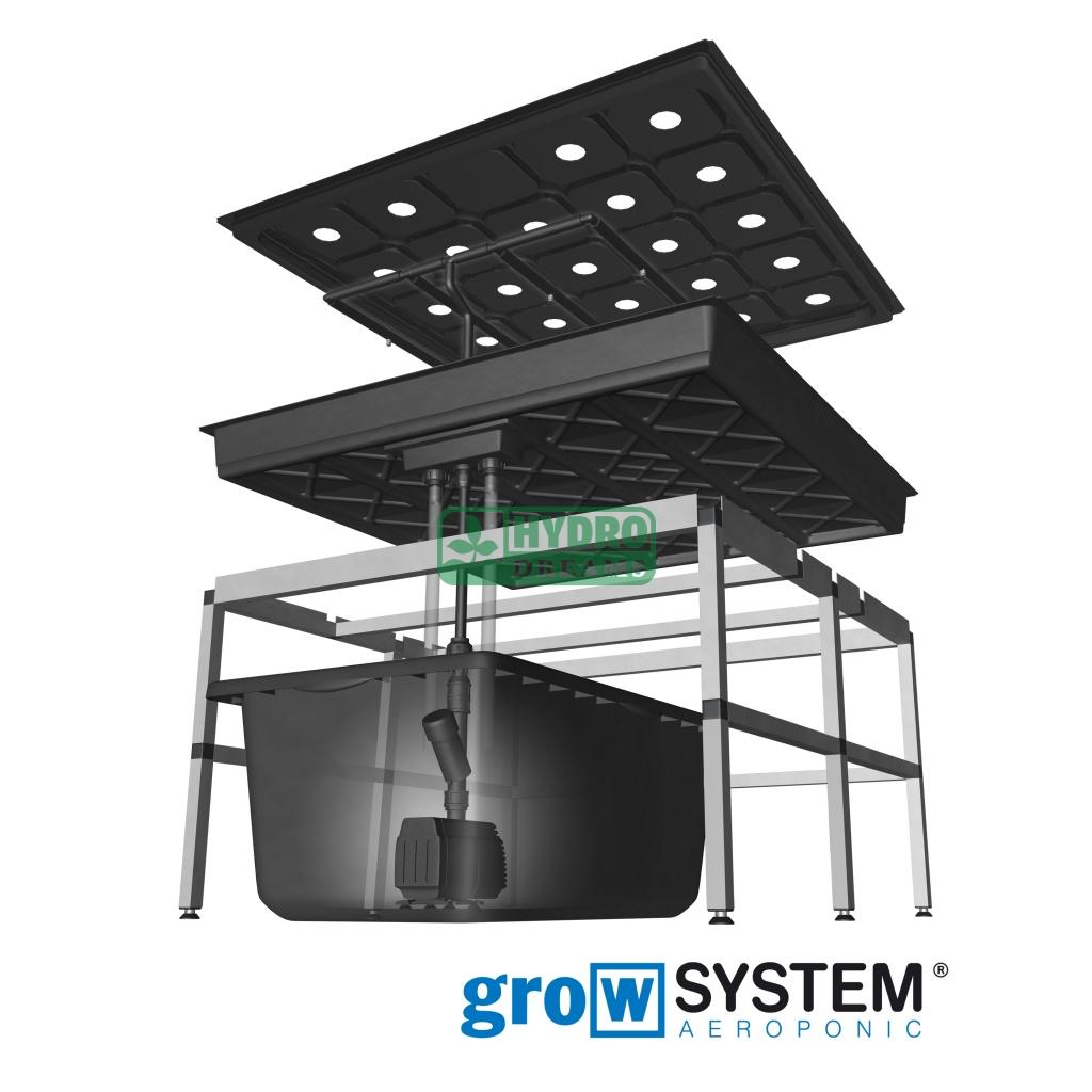 growtool growsystem aeroponic 1 0 chf hydrodream. Black Bedroom Furniture Sets. Home Design Ideas